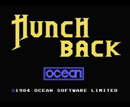 Hunchback (1985, MSX, Ocean)