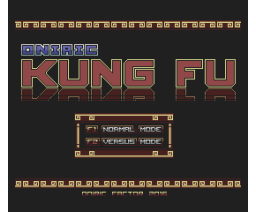 Oniric Kung Fu (2016, MSX2, MSX2+, Turbo-R, Oniric Factor)