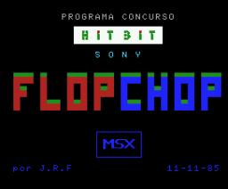 Flop Chop (1985, MSX, J.R.F.)