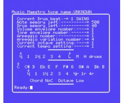 Music Maestro (1985, MSX, S. Jones, Paul Midcalf, B. Rogers)
