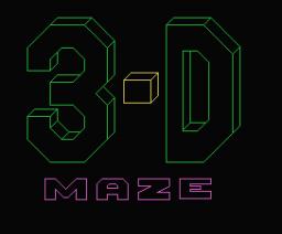 Maze Cup Champion (1984, MSX, James Ralph)
