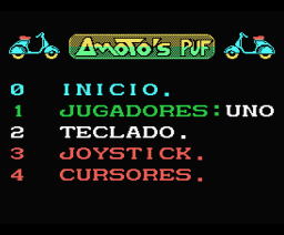 Amoto's Puf (1988, MSX, System 4)