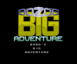 Bozo's Big Adventure (1992, MSX2, Cain)