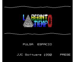 Laberinto del Tiempo (1990, MSX, JCC Software)