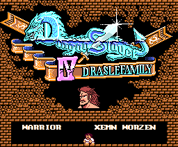 Dragon Slayer IV - Drasle Family (1987, MSX2, Falcom)