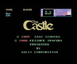 The Castle (1985, MSX, ASCII Corporation)