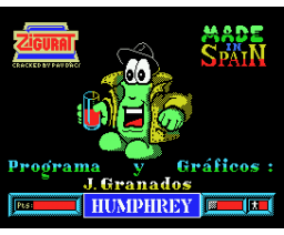 Humphrey (1988, MSX, Made in Spain)