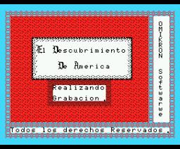 El Descubrimiento de América (1986, MSX, OMK Software)