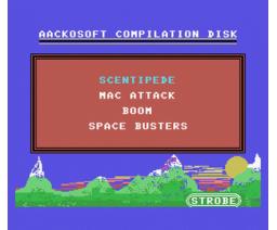 MSX Compilation 4 (1986, MSX, Aackosoft)