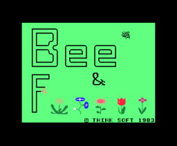 Bee & Flower (1983, MSX, Compile)
