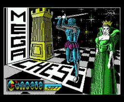 Mega Chess (1988, MSX, Genesis Soft, Iber Soft)