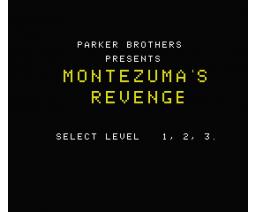 Montezuma's Revenge (2008, MSX, Parker Brothers)