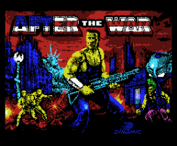 After the War (1989, MSX, Dinamic)