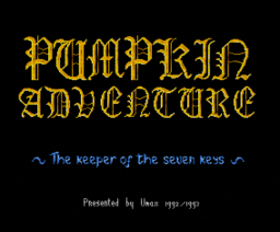 Pumpkin Adventure II (1993, MSX2, Umax)
