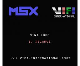 Dialogue avec une sauterelle (1985, MSX, Vifi International)