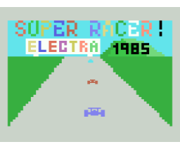 Super Racer (1985, MSX, Electra)