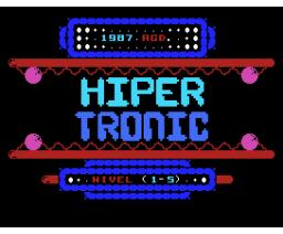 Hiper Tronic (1987, MSX, Genesis Soft, A.G.D.)
