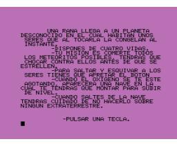 Rana Sideral / Gusanoco (1985, MSX, Monser)