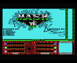 Mask II  (1987, MSX, Gremlin Graphics)