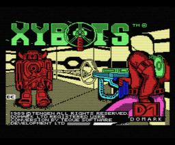 Xybots (1989, MSX, Domark, Tengen Inc.)