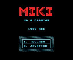 Miki Va a Esquiar (1986, MSX, Genesis Soft, A.G.D.)