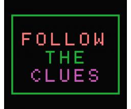 Follow the Clues (1986, MSX, Grupo de Trabajo Software (G.T.S.))