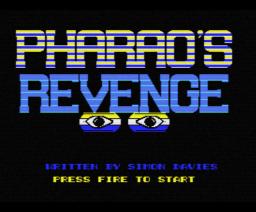 Pharaoh's Revenge (1988, MSX, Eurosoft)