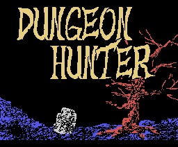 Dungeon Hunter (1989, MSX, ASCII Corporation)