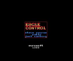 Eagle Control (1988, MSX, Eurosoft)