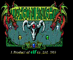 Dragon Knight (1990, MSX2, MSX2+, Elf Co.)