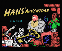 Hans' Adventure (2010, MSX, The Pets Mode, JamQue)