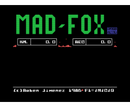 Mad-Fox (1986, MSX, Manhattan Transfer)