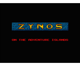 Zynos On The Adventure Island (1991, MSX2, GrischaSoft)