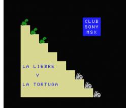 Liebre y Tortuga (1985, MSX, Club Sony MSX)