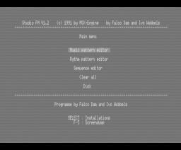 Studio FM (1991, MSX2, MSX-Engine)