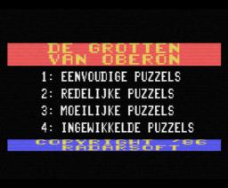 De Grotten van Oberon (1986, MSX, Radarsoft)