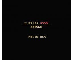 Danger (1988, MSX, Kotai)