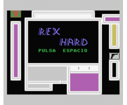 Rex Hard (1987, MSX, Mister Chip)