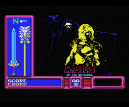 Masters of the Universe (1987, MSX, Gremlin Graphics)