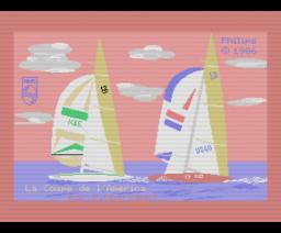 Régate - La Coupe de L'America (1986, MSX, MSX2, Philips France)