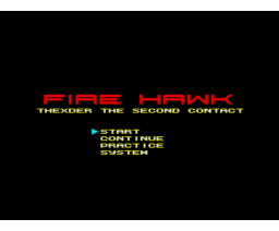 Fire Hawk: Thexder - The Second Contact (1989, MSX2, MSX2+, Game Arts)