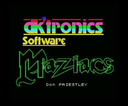 Maziacs (1985, MSX, DK´Tronics)