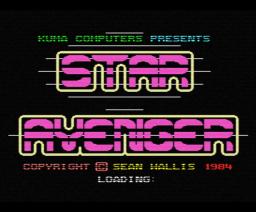 Star Avenger (1984, MSX, Sean Wallis)