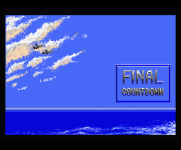 Final Countdown (1988, MSX2, Methodic Solutions)