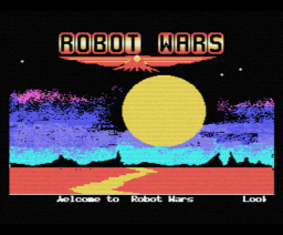 Robot Wars (1986, MSX, The Bytebusters)