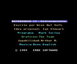 Emilio Butragueño Fútbol II (1989, MSX, Ocean)