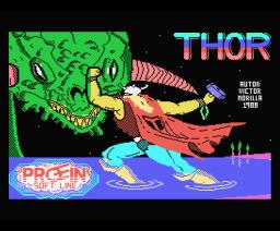 Thor (1988, MSX, Proein Soft Line)