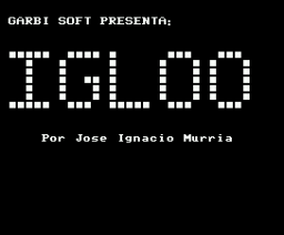 Igloo (1985, MSX, Garbi Soft)