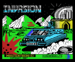 Invasion UK (1987, MSX, Mastertronic)