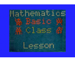 Solving Linear Equations (1983, MSX, Central education)